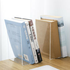 Acrylic Glass, Transparent Vitadisplays/® DIN A5 Book Stand//Bookend//Book Holder Made of Original PLEXIGLAS/®