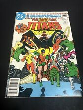 The New Teen Titans # 1 Newsstand Fine - Signed by George Perez 1980 Dc Comics