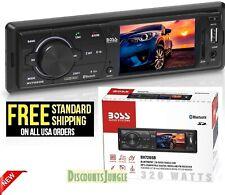 BOSS Audio BV7265B 1-DIN 3.2 inch LCD Bluetooth/USB/SD Car Multimedia Receiver