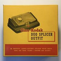 Cine-Kodak Duo Splicer Outfit Vintage Video Editing Equipment