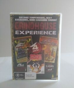 Grindhouse Experience DVD RARE OOP (4 Disk set)