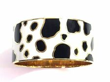 Kate Spade Spot On Cow Bracelet NWT Holstein Cow Spots Bangle! Animal Print