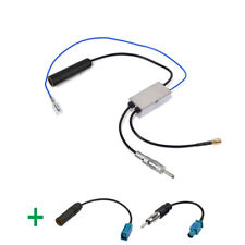 FM/AM to DAB/FM/AM car radio Aerial Amplifier/splitter and Fakra to DIN cable