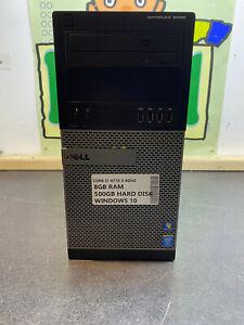 Dell Optiplex 9020 MT i7 4770 3.4Ghz 8GB 500GB WINDOWS 10 PC TOWER READY TO GO U