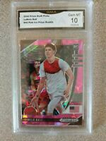2020 Prizm Draft Lamelo Ball Rookie Pink Ice Cracked #43 GMA GEM MINT 10