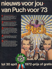 PUCH BROMFIETS - ADVERTISEMENTS FROM DUTCH MAGAZINES '60'S/'70'S