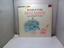 WEEKEND IN VIENNA STRAUSS FAVOURITES DECCA 4178851 417-885-1  VINYL LP