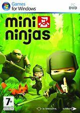 Ordenador PC juego mini ninjas DVD envío nuevo