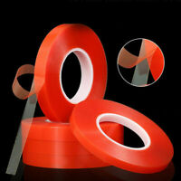 50M Heat And Cold Resistant Double-sided Transparent Clear Adhesive Tape Long