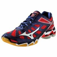 Mizuno Wave Lightning RX3 Men's Navy Red Volleyball Shoes 430169.5110 NEW