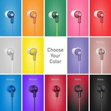 PANASONIC ErgoFit In-Ear Earbud Earbuds HJE120-TCM125 MANY COLORS NEW