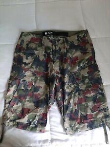 G-Star RAW Rovic Camo Loose Shorts - 34