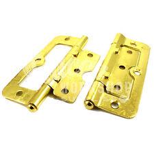 """Scatola di 20 (10 PAIA) 4"""" in ottone hurlinges Loose PIN CERNIERE PORTA pin rimovibile (L1)"""