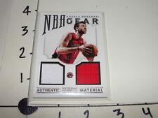 Andrea Bargnani / 2012-13 NATIONAL TREASURES #16 Dual Jersey / Raptors - Knicks