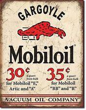 Mobil Mobiloil Gargoyle metal sign 400mm x 300mm  (de)