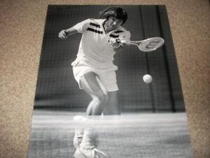 Jimmy Connors Pro Tennis Grand Slam Champ  8 x 10 BW  Photo