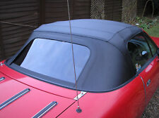 Mazda MX5 MK1 Miata Eunos Black Vinyl PVC Car Hood soft top
