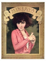 Minerva #6 c.1921 Vintage Flapper Fashion Knitting Patterns for Women RARE!