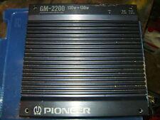 Verstärker Endstufe Pioneer GM 2200 Old School