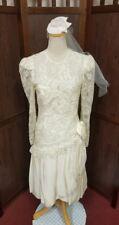 "Zombie bride of Frankenstein wedding gown Halloween costume 26"" waist"