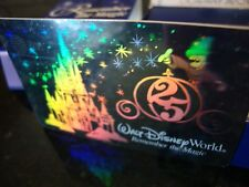 Disney World 25th Anniversary Boxed Gift Card & PIN AT&T Hologram 1996 Free Ship