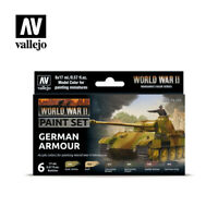 AV Vallejo Model Color Set - WWII German Armour (6)  VAL70205