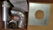 """Tankless Water Heater 3""""/ 5"""" Concentric Direct Vent Horizontal Kit  RTG20147-1"""