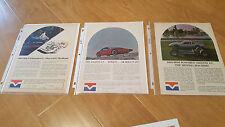 3 original Amante GT ads plus extras - V8 & VW fiberglass Kit Car