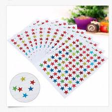880x Stars Stickers Labels For School Kids Teacher Homework Reward Encourage