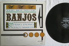 The Sound Of Banjos And Ping Pong Percussion LP Coronet CX140 VG+