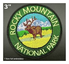 Rocky Mountain National Park Embroidered Patch Iron / Sew-On Souvenir Applique
