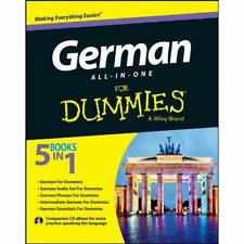 German All-in-One For Dummies, with CD - Paperback NEW Consumer Dummie 2013-07-0