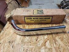 NOS 1958 Chevrolet Left Upper Grille Bar Impala Bel Air Delray Biscayne Chrome
