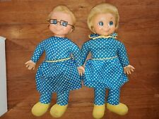 New Listing2 X 1967 Mrs. Beasley Mattel Family Affair Doll with glasses. Vintage dolls.