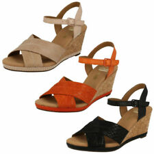 Clarks Buckle Platforms, Wedges Shoes for Women
