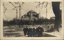 Istanbul Eminönü Türkei Türkiye ~1930 Hagia Sophia Sophienkirche Moschee Kirche