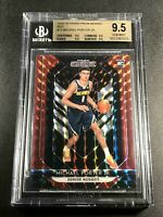 MICHAEL PORTER JR 2018 PANINI PRIZM #73 MOSAIC RED REFRACTOR ROOKIE ALL BGS 9.5