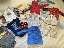 Baby Boy 12 Months Spring Summer clothes 25 lot HUGE LOT