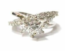 1.54 Tcw Round Diamond Solitaire Engagement/Anniversary Ring Size 8 G Vs2-Si1