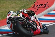 Danilo Petrucci Hand Signed Pramac Ducati 12x8 Photo 2015 MotoGP 4.