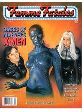 WoW! Femme Fatales V9#2 💀 Babes Of Marvel's X-Men! Anna Paquin! Paula Prentiss!