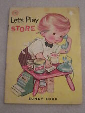 1970 Let's Play Store Sunny Book by Mary Windsor