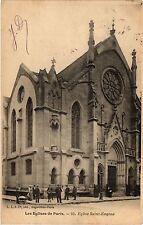 CPA Les Eglises de Paris 9e - Eglise Saint-Eugene (273809)