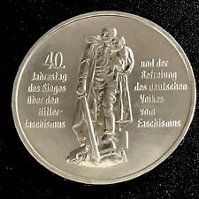 DDR  10 Mark 1985 A - 40. Jahrestag der Befreiung - stgl./ unc. - Sammler-Stück