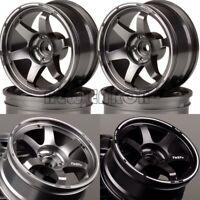 4PCS Offset Wheel Rim Aluminum 6MM  For RC 1/10 On-Road Drift Traxxas HPI HSP