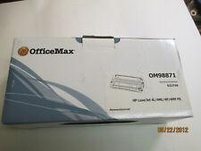 OFFICE MAX OM98871 REMANUFACTURED HP 92274A BLACK TONER CARTRIDGE SEALED