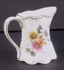 ST. GEORGE FINE BONE CHINA MADE IN ENGLAND SMALL CREAMER/MILK PITCHER
