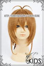 CardCaptorSakura Kinomoto Sakura Cosplay wig Costume Brown Colour