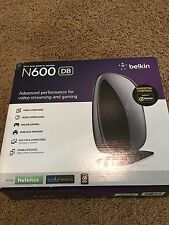 Belkin N600 DB Wi-Fi Dual Band N+Router New