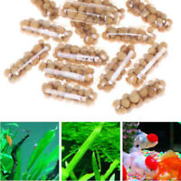 40x Aquatic Plant Water Root Fertilizer Condensed Aquarium Fish Tank Cylinder Wn